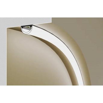 Profilo in alluminio ARC12 grigio anodizzato