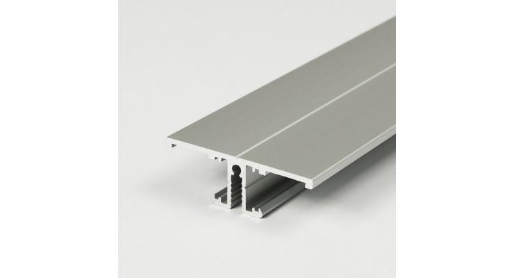 Profilo in alluminio BACK10 grigio anodizzato