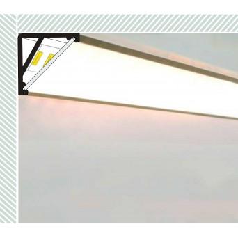 Profilo in Alluminio CABI12 bianco