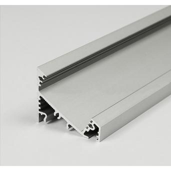 Profilo in Alluminio CORNER27 grigio anodizzato