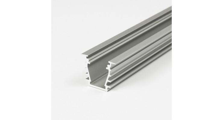 Profilo in Alluminio DEEP10 grigio anodizzato