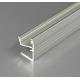 Profilo in alluminio EDGE10 grigio anodizzato