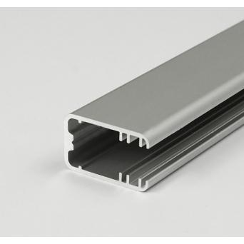 Profilo in alluminio MIKRO-LINE12 grigio anodizzato