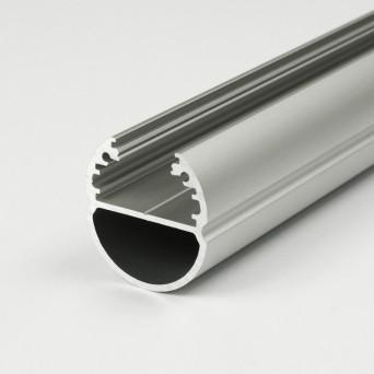 Profilo in Alluminio OVAL20 grigio anodizzato