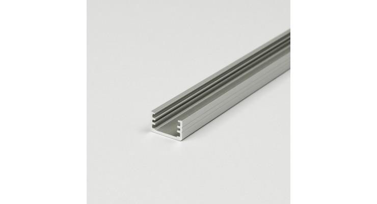 Profilo in alluminio SLIM8 grigio anodizzato