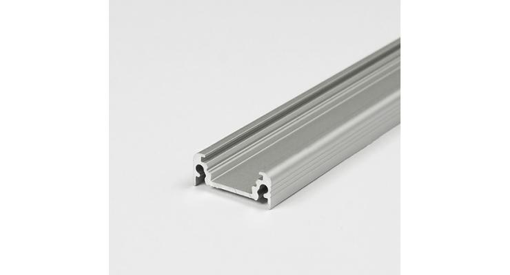Profilo in alluminio SURFACE14 grigio anodizzato