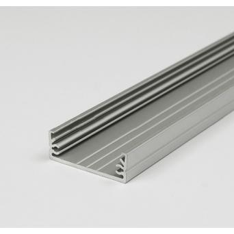 Profilo in alluminio WIDE24 grigio anodizzato