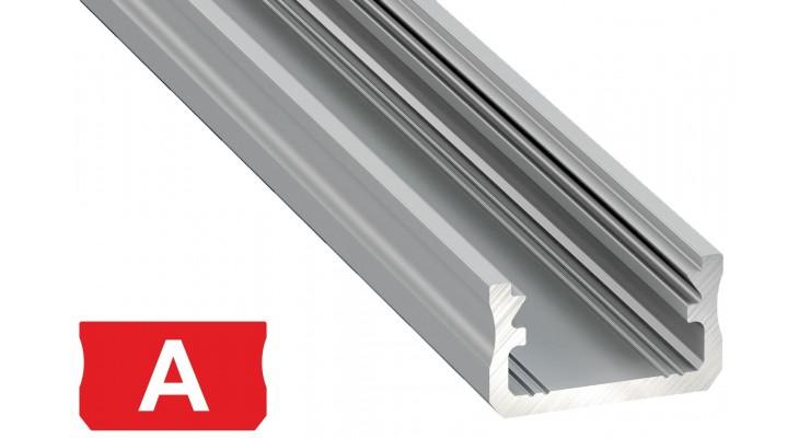 Profilo in alluminio A grigio