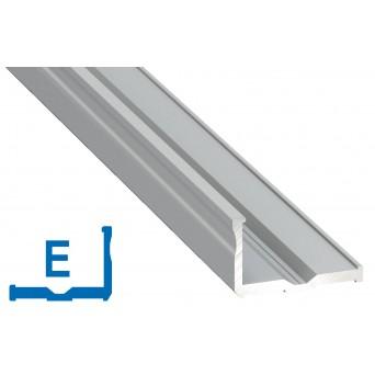 Profilo in alluminio E grigio