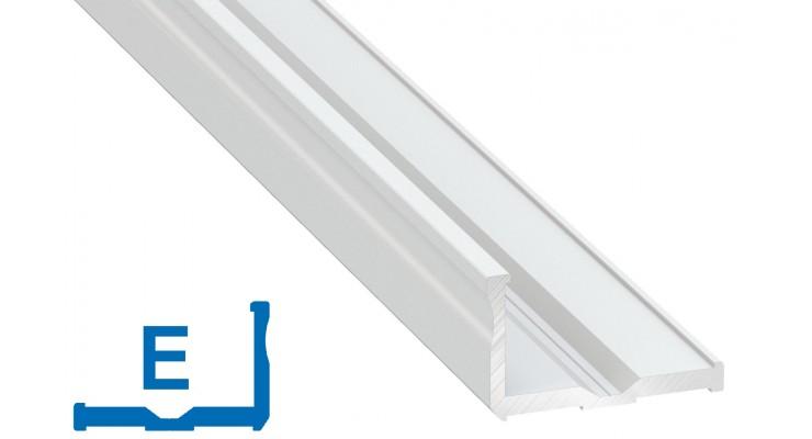 Profilo in alluminio E bianco