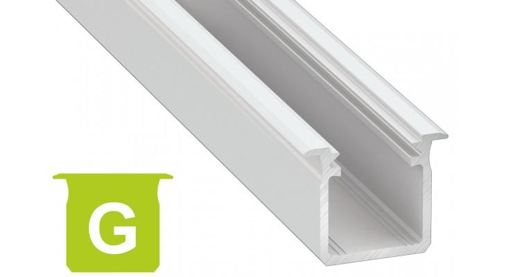 Profilo in alluminio G bianco