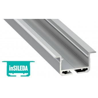 Profilo in alluminio inSILEDA grigio