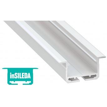 Profilo in alluminio inSILEDA bianco