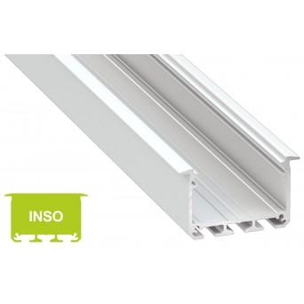 Profilo in alluminio INSO bianco