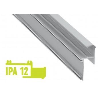Profilo in alluminio IPA12 grigio