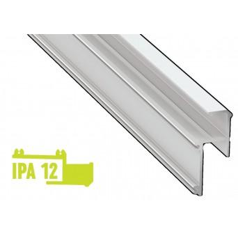 Profilo in alluminio IPA12 bianco