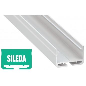 Profilo in alluminio SILEDA bianco