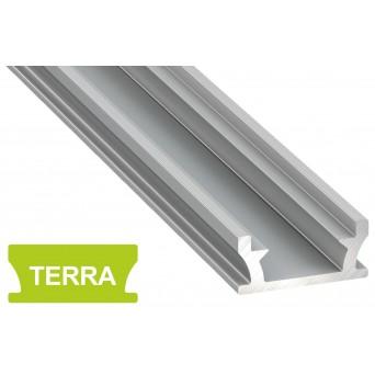 Profilo in alluminio TERRA grigio