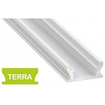 Profilo in alluminio TERRA bianco