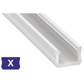 Profilo in alluminio X bianco