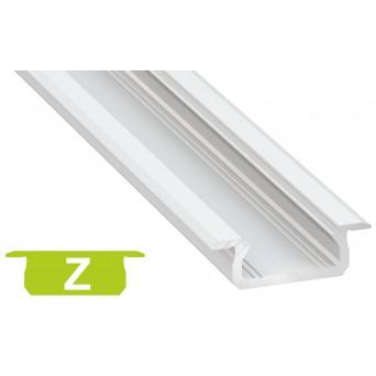 Profilo in alluminio Z bianco