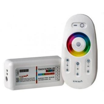 Controller RGBW 12/24V con telecomando touch