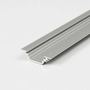 Profilo in Alluminio TRIO10 grigio anodizzato