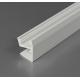 Profilo in alluminio EDGE10 bianco