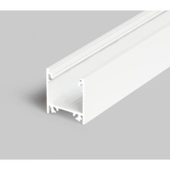 Profilo in alluminio LINEA20 bianco