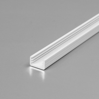 Profilo in alluminio SLIM8 bianco