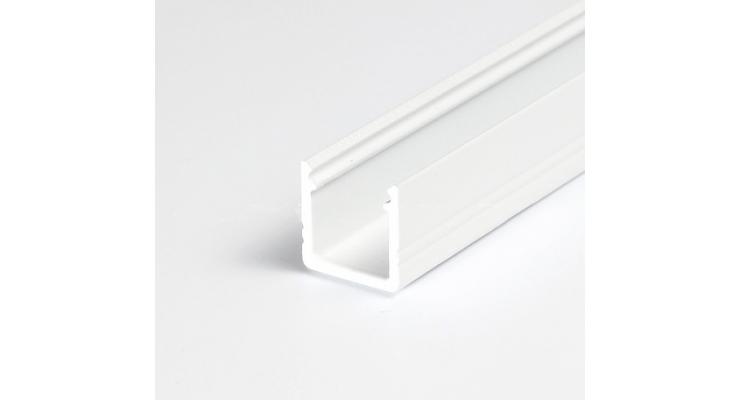Profilo in alluminio SMART10 bianco