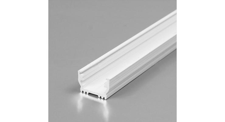 Profilo in alluminio UNI12 bianco