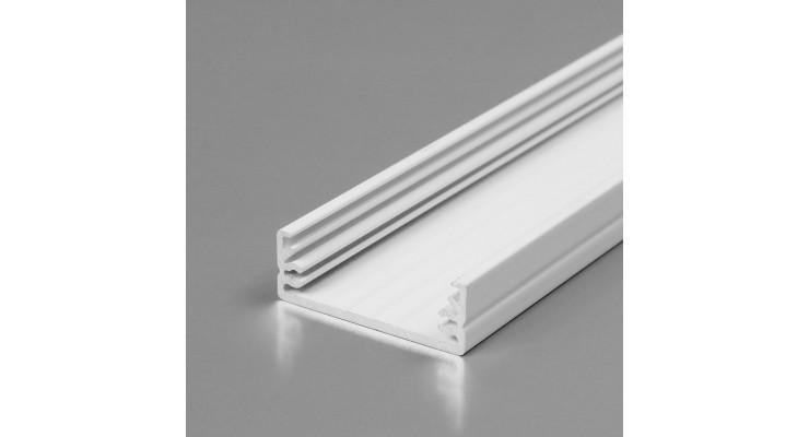 Profilo in alluminio WIDE24 bianco
